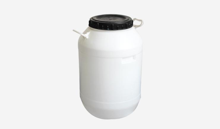 50L塑料包装桶圆形(白色)