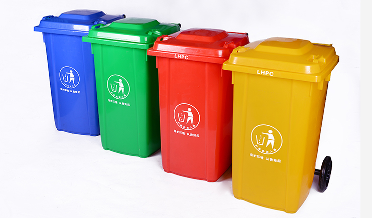 100L-分类垃圾桶-颜色多