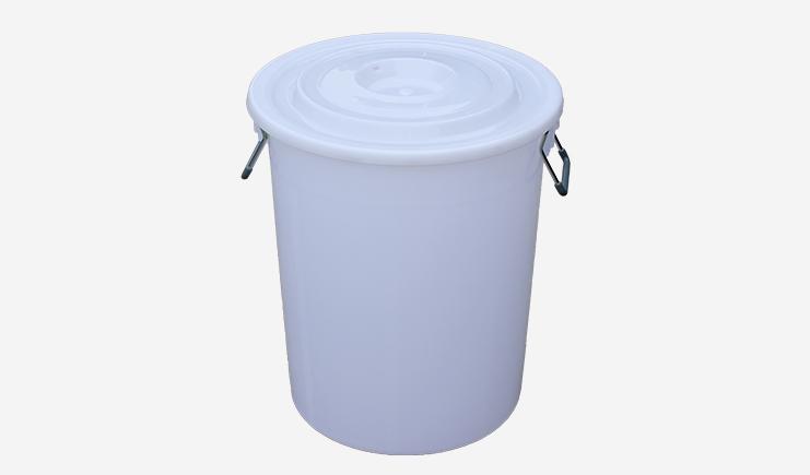 60L-厨余垃圾桶-白色