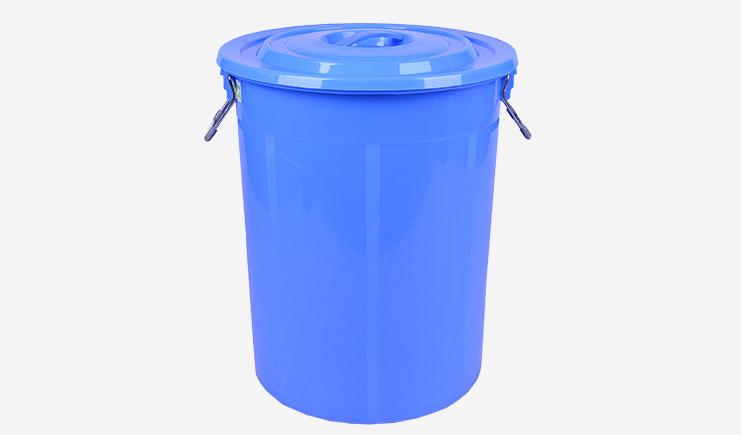 60L-厨余垃圾桶-蓝色