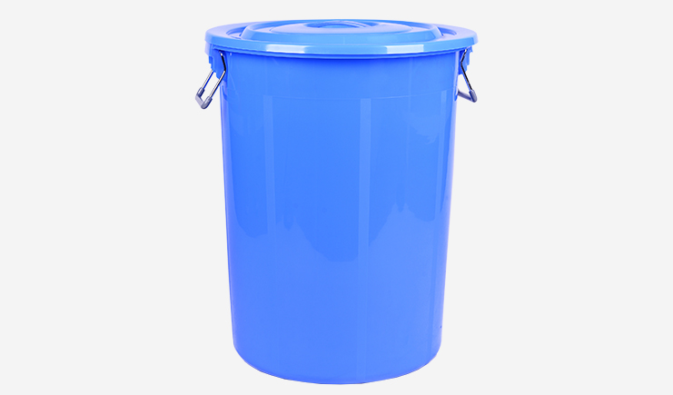 100L-厨余垃圾桶-蓝色