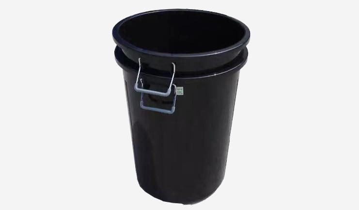 100L-厨余垃圾桶-黑色