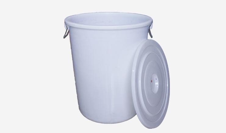 280L-厨余垃圾桶-白色