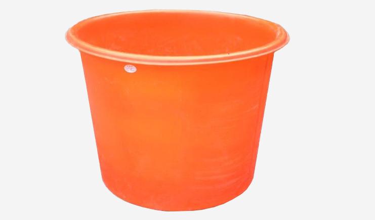 500L-橘色-塑料圆桶