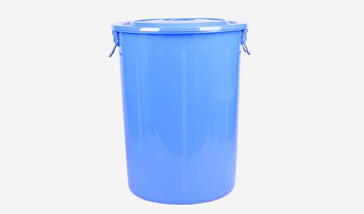 160L-厨余垃圾桶-蓝色