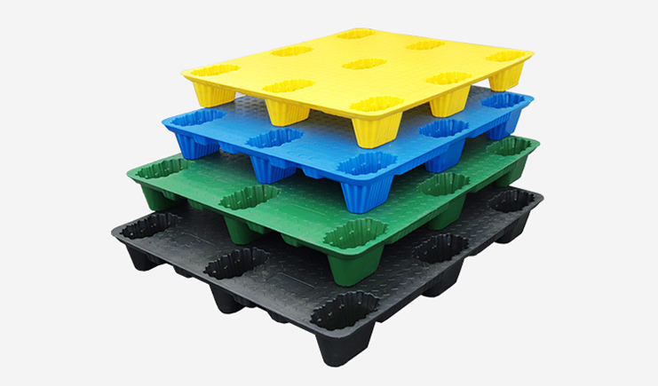 九脚吹塑塑料托盘-定制