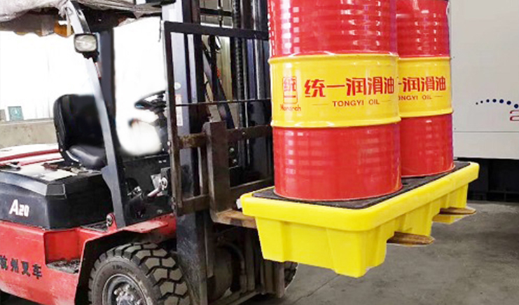 JSL-两桶防漏托盘-化学液体防泄漏